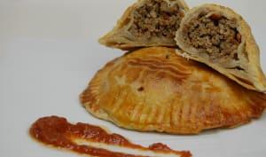 Empanadas pili pili à la viande hachée