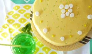 Funfetti lemon layer cake