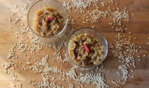 Quinoa au lait et aux baies de goji