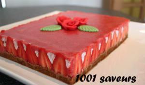 Le Délice fraises mascarpone et spéculoos