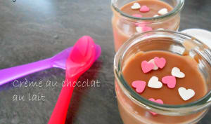 Crème au chocolat au lait