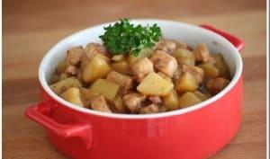 Ragoût de porc et Pommes de terre au roux