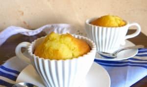 Muffins de madeleine au coeur Nocciolata