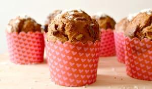 Muffins chocolat au lait & Noix de coco