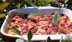 Clafoutis aux fraises