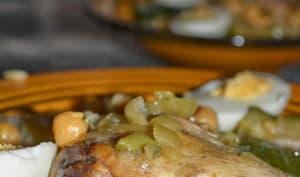 Tlitli en sauce blanche