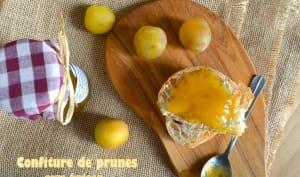 Confiture de prunes aux épices