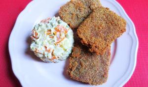 Milanesas de Corned Beef et sa Salade Russe