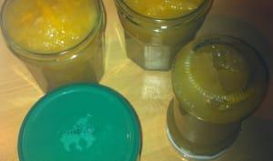 Confiture de pamplemousses et mandarines