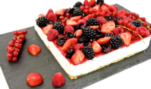 Cheesecake revisité aux fruits rouges