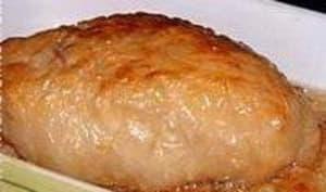Rognon de veau rôti en coque