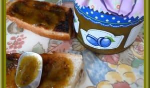 Confiture de prunes vanillées