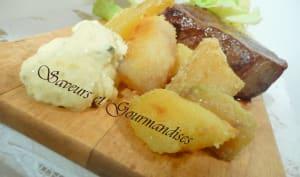 Chateaubriand, sauce béarnaise et pommes croustillantes