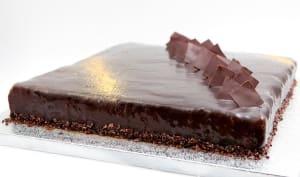 Entremet chocolat et vanille