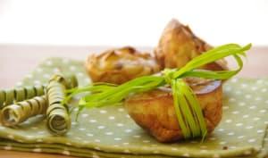 Muffins pommes-roquefort