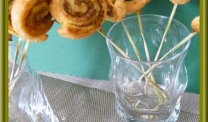 Escargots feuilletés à la tapenade verte
