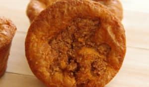 Muffins aux pommes et à la fève tonka
