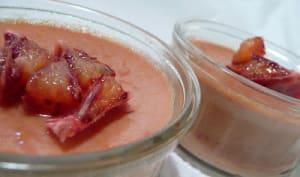 Crèmes à l'orange sanguine.