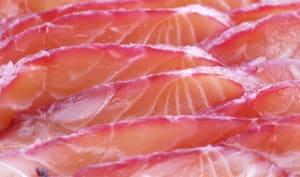 Saumon gravlax à la betterave