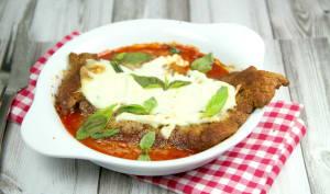 Escalope de veau à la parmigiana
