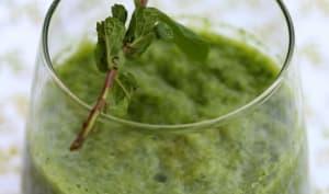 Green Smoothie, boisson aux épinard