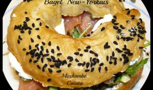 Bagels saumon et mascarpone à la New Yorkaise