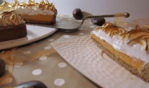 Pumpkin pie et meringue