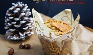Muffins au lin et noisettes, coeur sirop de Liège