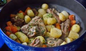 Irish stew à la Guinness