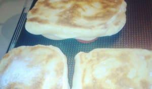naans au fromage à raclette