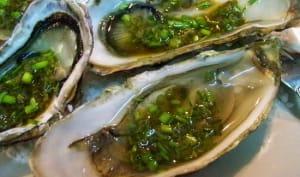 Menus de fruits de mer pour noël