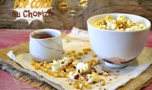 Pop corn au chorizo du Chef Etchebest