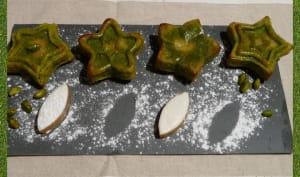 Moelleux pistache coeur de calisson