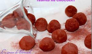 Truffes au chocolat classique