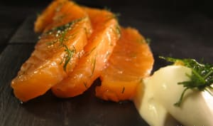 Saumon gravlax maison