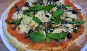 Pizza margherita ou Margarita