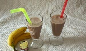 Milkshake banane Nutella