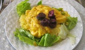 Salade de pommes de terre à la Huancayo
