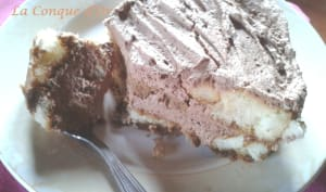 Tiramisu café-crème chantilly au chocolat