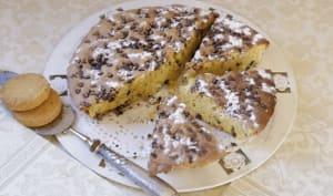Gâteau au chocolat à la liqueur d'orange et aux sablés bretons
