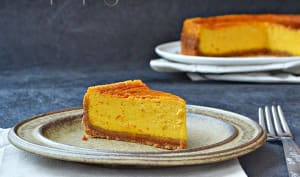 Cheesecake potimarron / spéculoos