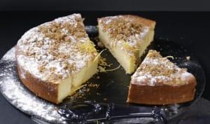 Gâteau citron ricotta et speculoos