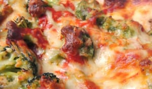 Lasagnes feta brocolis