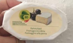 Confection de fromage à la crème