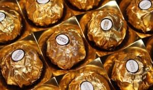Boîte de Ferrero Rocher à offrir