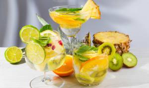 3 cocktails sans alcool à base de fruits frais