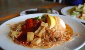 Plat malaisien traditionnel à base de vermicelles de soja