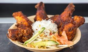 Adobo de poulet
