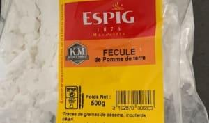Sachet de fécule de pomme de terre