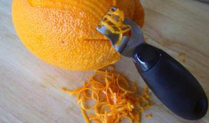 Ecorce d'orange